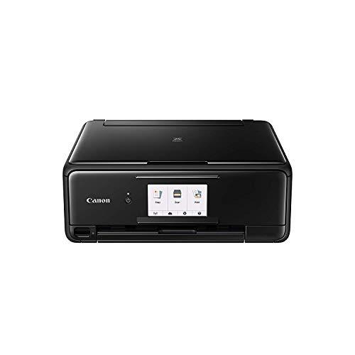 Canon PIXMA TS8150 3-in-1 Printer – Black (Old Model) + full spare Canon ink set