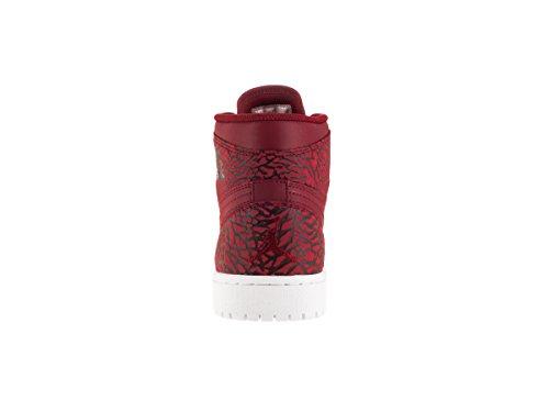 White Gym Zapatillas para High de white team Rojo Retro Jordan Baloncesto 1 Air Red NIKE Red Hombre XqxwP8OI