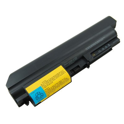 Laptop Battery for IBM/Lenovo ThinkPad T400 7417, 6 cells 4400mAh Black by CBD