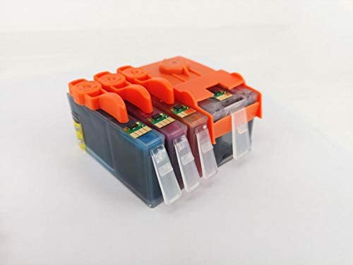 Gasin 904XL 4 Pack Ink Cartridges for HP 904xl Ink for HP OfficeJet Pro 6960 6970 All-in-one Printers