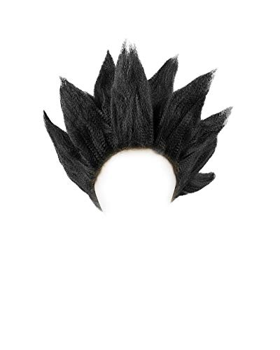Miccostumes Men's Goku Cosplay Wig (Black)]()