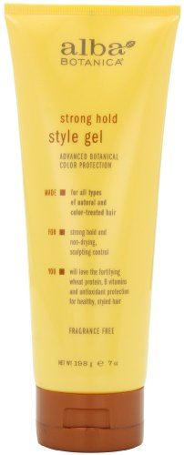 Alba Leave In Conditioner - Alba Botanica Strong Hold Style Gel, 7 oz.