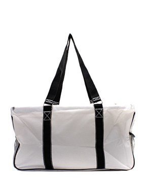 N. Gil All Purpose Open Top 23 Classic Extra Large Utility Tote Bag 2 (Baseball)