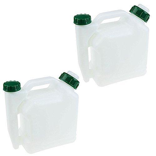 Dos 2 tiempos gasolina mezcla de combustible botellas para ...