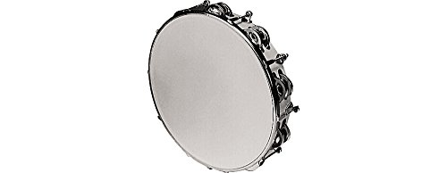 Rhythm Band Instruments RB930DJ Tunable Tambourine 10 Inch with 18 Pairs of Double Row (Tunable Tambourine)