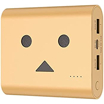 cheero Power Plus 3 13400mAh DANBOARD - Portable charger [ Panasonic Premium Battery Cells ] 2-Port High Power Output 3.4A 【AUTO-IC Function】