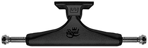 Royal - Standard Skateboard Truck, Black/Black, 5.25 (5.25 Skateboard Trucks)