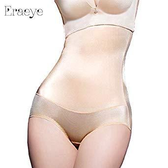 0381d28ec5 Buy ERAEYE Women Underwear Silky Luster Siamese Corset Thin Waist Slimming  Tummy Bodysuit High Waist Shapewear Body Shapers Panties Color fu Size XL  Online ...
