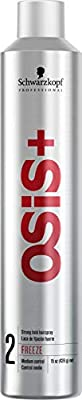 OSiS+ FREEZE Strong Hold Hairspray, 15-Ounce
