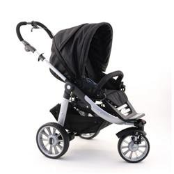 Amazon.com: Teutonia 250 Cochecito Sistema – Negro de Humo: Baby