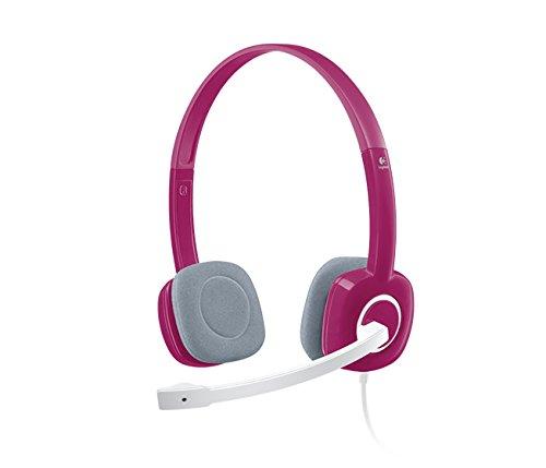 Logitech H150 Stereo Headset  Pink