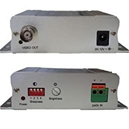 VT98334R Active Video Balun, UTP Balun, Receiver