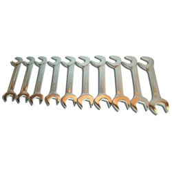 V-8 Tools 10 Piece Jumbo Angled Wrench Set (V8T9810) Category: Open End Wrench Sets ()