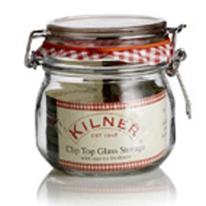 Kilner Storage Jar - Wire Bail - Round - 500 mL - 12 pack