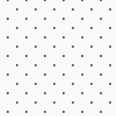 KE29926 - Kitchen Style 2 Polka Dot White Black Galerie W...