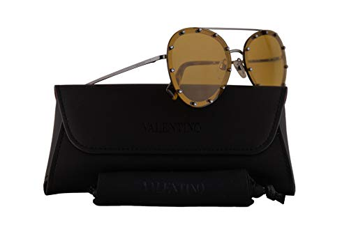 Used, Valentino VA 2013 Sunglasses Gunmetal w/Yellow Lens for sale  Delivered anywhere in USA