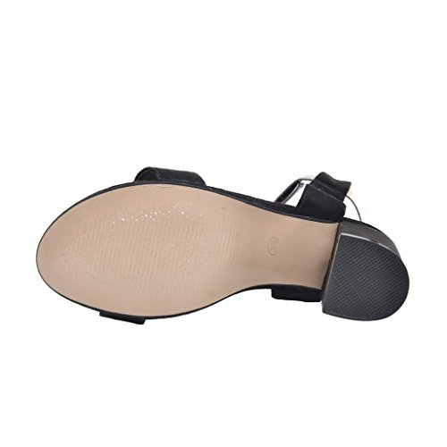 High Black Time Dear Summer Dear Black Gladiator Time Heels Sandals qw4txwE7Yv