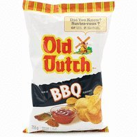 Old Dutch Potato Chips BBQ 255g {Imported from (Old Dutch Foods)