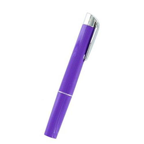 Timesco D85.030 Stylo torche ré utilisable avec piles, Violet