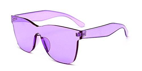 Para Azul Gafas Del Pedazo Mujeres Partido clear Verde Sol purple TIANLIANG04 Claro Unisex De Hombres Transparente Caramelos Sol Un Rosa De Gafas Color De Regalo Rojo Azul 5wWI1a