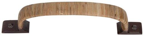 Wrap Mega Pull (Atlas Homewares 3006 10-Inch Hamptons Collections Bamboo Wrap Mega Pull, Bamboo)