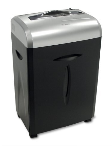 12-Sheet Medium-Duty Cross-Cut Shredder, 12 Sheet Capacity
