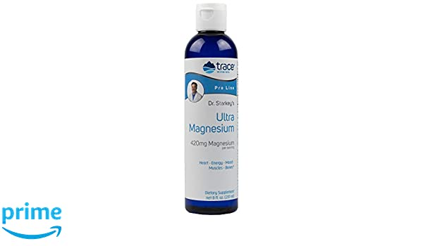 Amazon.com: Trace Minerals Pro Line, Dr. Starkeys Liquid Ultra Magnesium 420 mg Servings, 8 Ounce: Health & Personal Care