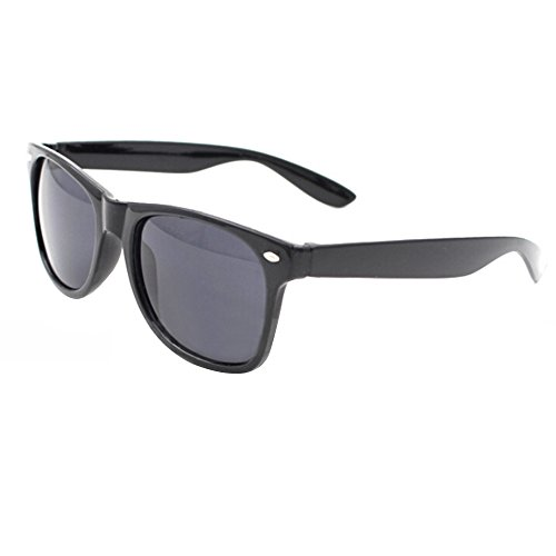 Noir Sanwood Taille unique noir Homme Lunettes soleil Noir de PPq7gf