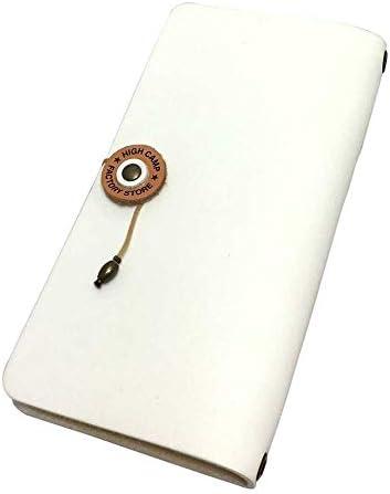 HIGHCAMP (ハイキャンプ) 本革 AQUOS R3 ケース (SH-04L SHV44 808SH) 手帳型 スマホケース コードクローズ ホワイト 右開き (左利き) カードケース付き アクオスR3 レザー カバー ハンドメイド 日本製