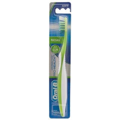 OralB CrossAction Brosse à dents à poils doux (la couleur peut varier) (6 brosses à dents)