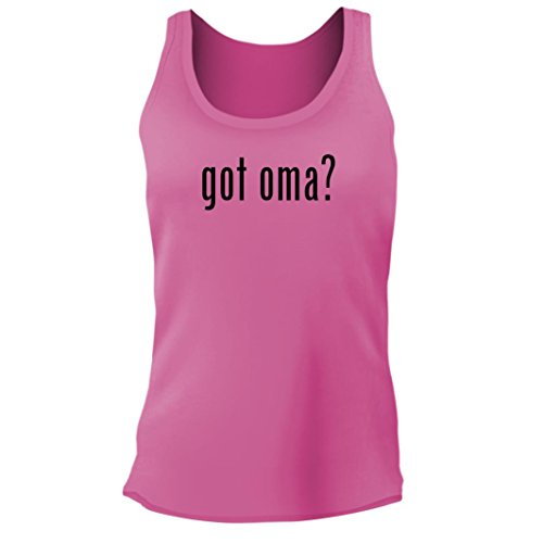 Tracy Gifts got oma? - Women's Junior Cut Adult Tank Top, Pi