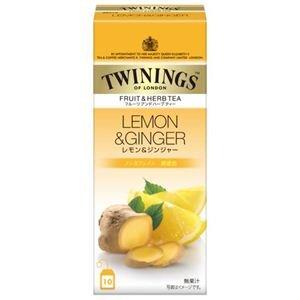 Twining fruit & herbal tea Lemon & Ginger 10P