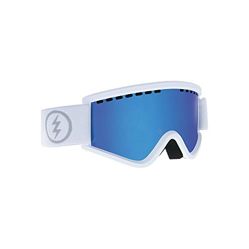 Electric EGV.K Ski Goggles, Matte White/Brose/Blue Chrome