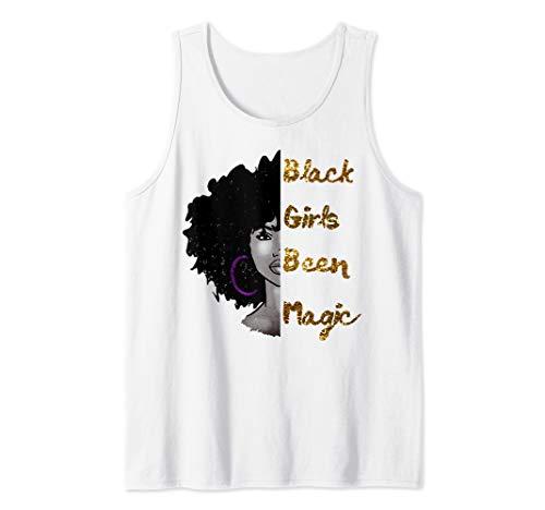 - Black Girl Magic Shirt History Month African Heritage Tee Tank Top