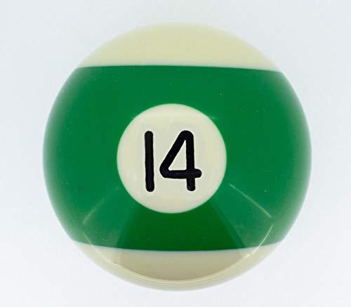 Billard-Einzelkugel 57,2 mm Nr 14