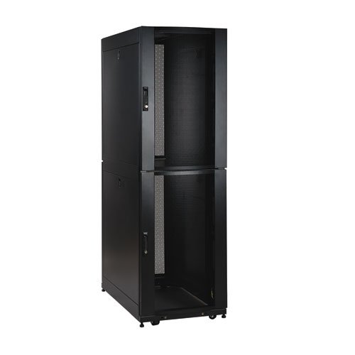 Tripp Lite Sr42ubcl 42U Rack Enclosure Server Cabinet Co Location With Doors And Sides