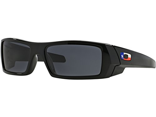 Oakley Gascan Texas Flag Edition Sunglasses Black Frame/Black Lens - Sunglasses Gascan Oakley