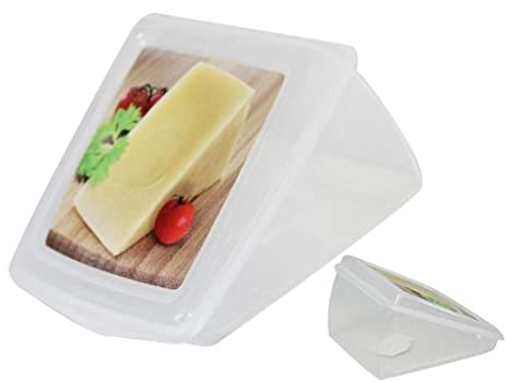HEGA Rótterdam - Caja de Queso con Etiqueta de Molde, diseño de cuña, Talla única