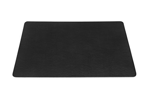 Maruse Desk Pad / Mat 25.6'' x 15.8'' - Made in Italy (Black) by Maruse