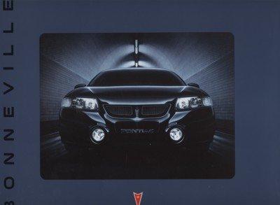 Brochure Sales Bonneville Pontiac (2002 Pontiac Bonneville Original Sales Brochure Book)