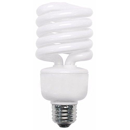 (TCP 28927277 CFL Spring Lamp - 100 Watt Equivalent (only 27w used!) Soft White (2700K) Medium/Standard Base (e26) Spiral Light Bulb - 277-volt)