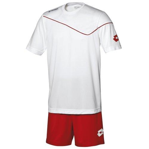 Lotto - Equipacíon/Conjuto Camiseta de Manga Corta-pantalón de Futbol para Hombre: Amazon.es: Ropa y accesorios