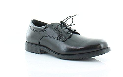 Mens Waterproof Oxford (Rockport Men's Essential Details Waterproof Plain Toe Oxford Black 10.5 M (D)-10.5  M)