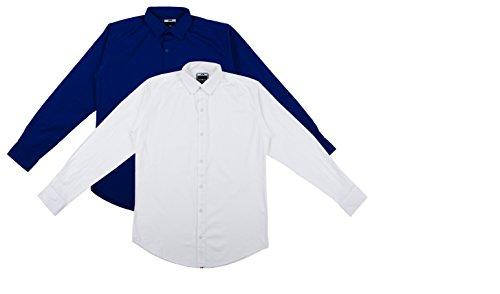 Ben Martin Mens Cotton Casual Shirt  BMW-CSHBM-1-Royal-CSHB