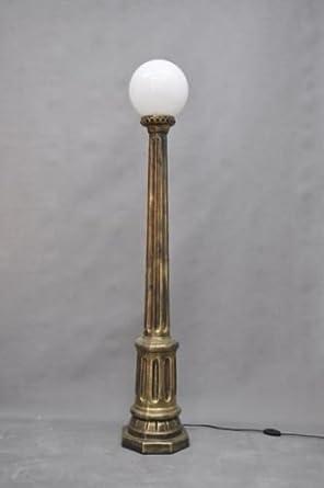 Lámpara Pie techo foco Proyección Stand lámpara de pie con bolas ...