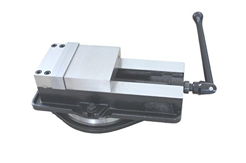 HHIP 3900-2103 Pro-Series Heavy Duty Milling Vise with Swivel Base, 6