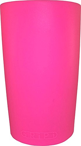 Cheap GRiPi Sleeve for YETI Cooler Tumbler (Neon Dolphin Pink) Silicone Grip for 20 oz. or 30 oz. Drinks   Colorful, Personalized Insulated Cup Cover