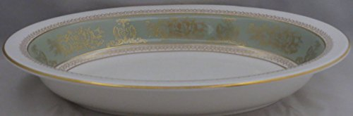 Wedgwood Columbia-Sage Green Rim 10