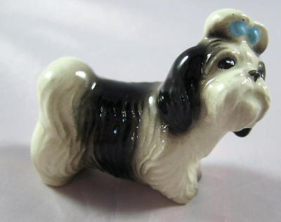 SHIH TZU Dog 'Mandy' Looks At You MINIATURE Figurine for sale  Delivered anywhere in USA