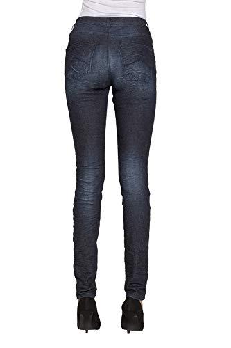 Tejido Carrera Jeans Extensible Mujer Para S Es qt60B